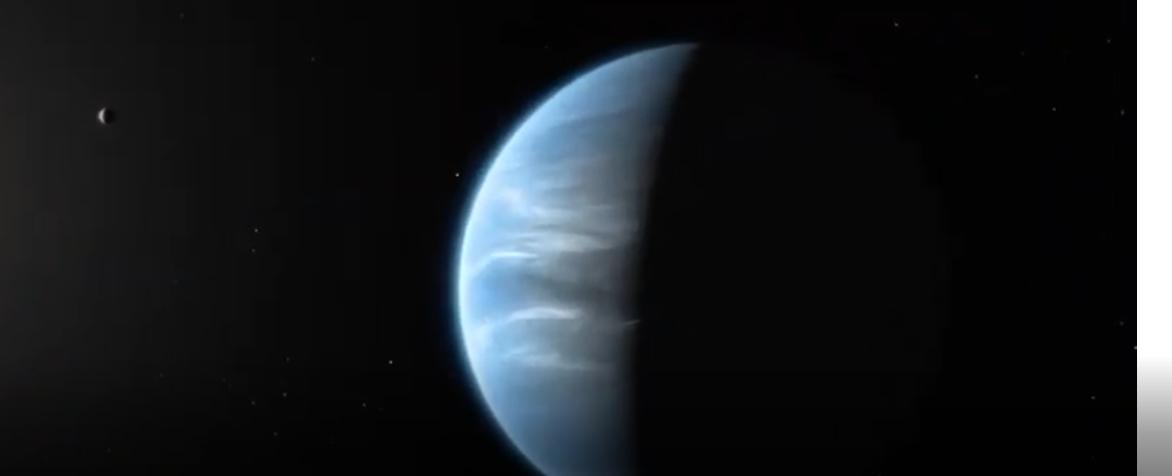 पृथ्बीबाट निकै टाढा रहेको ग्रहमा पहिलो पटक पानी फेला