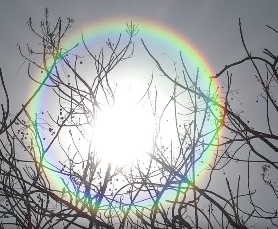 यस्तो देखियो खण्डग्रास सूर्यग्रहण