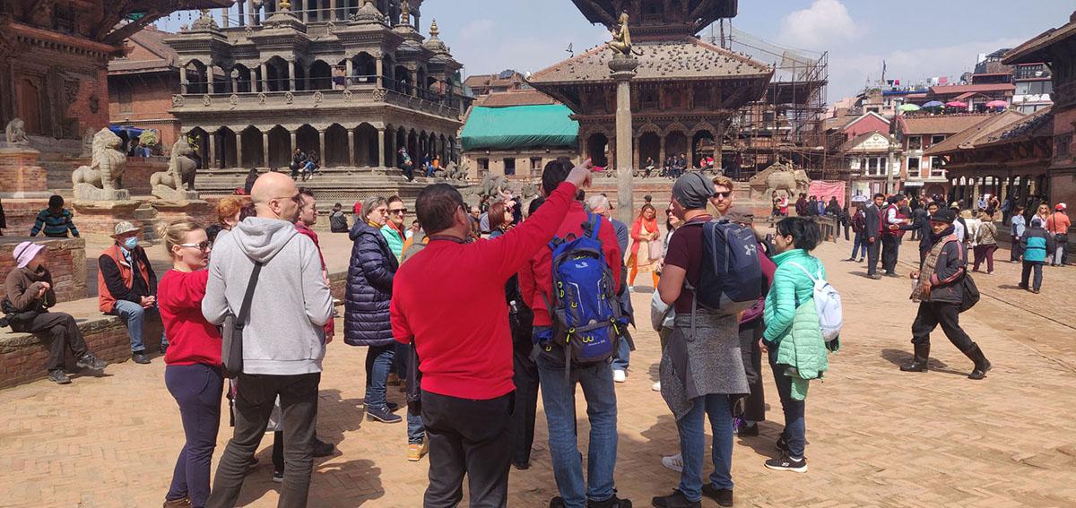 नेपालमा पर्यटक आगमन दर दैनिक बढ्दो, कात्तिक महिनामा मात्रै करिब दुई हजार पर्यटक नेपाल आए