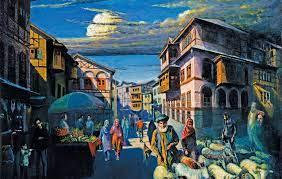 एक चित्रकारको काश्मीर देखि चीन सम्मको यात्रा