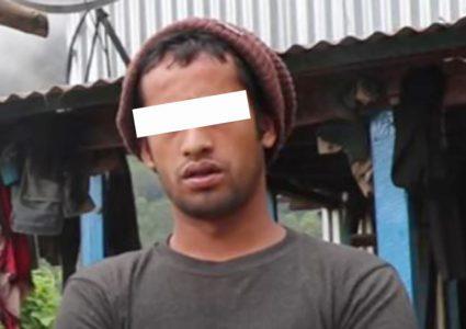 संखुवासभा हत्या काण्डः ६ जनाको हत्या आफन्तबाटै, भतिजलाई सार्वजनिक गर्दै प्रहरी